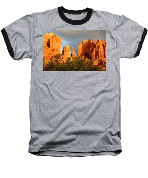 Cathedral Formation Baseball T-Shirt