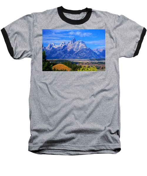 Cathedral Group Impressions Baseball T-Shirt by Greg Norrell