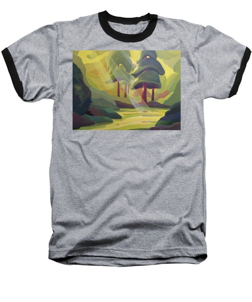 Cathedral Light Baseball T-Shirt