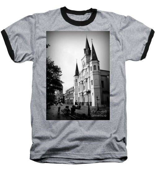 Cathedral Morning 2 Baseball T-Shirt by Perry Webster