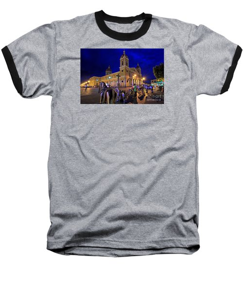 Cathedral Of Granada Shines Brightly Baseball T-Shirt