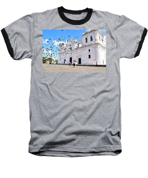 Cathedral Of Leon Baseball T-Shirt