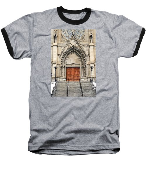 Baseball T-Shirt featuring the photograph Cathedral Of St Helena by Richard Lynch