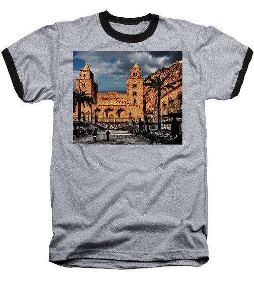 Cathedral  Baseball T-Shirt by Patrick Boening