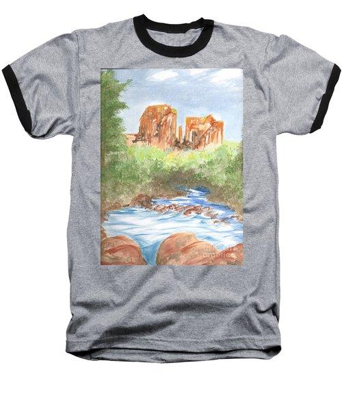 Cathedral Rock 2,  Sedona, Az. Baseball T-Shirt