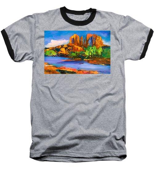 Cathedral Rock Afternoon Baseball T-Shirt