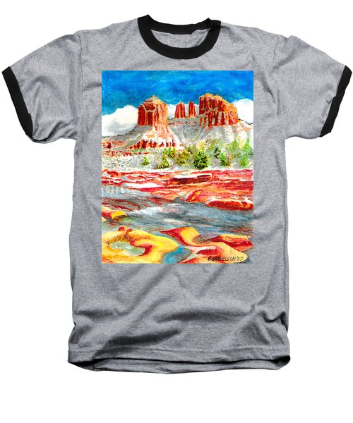 Cathedral Rock Crossing Baseball T-Shirt