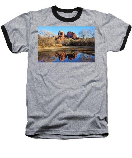 Cathedral Rock, Sedona Baseball T-Shirt