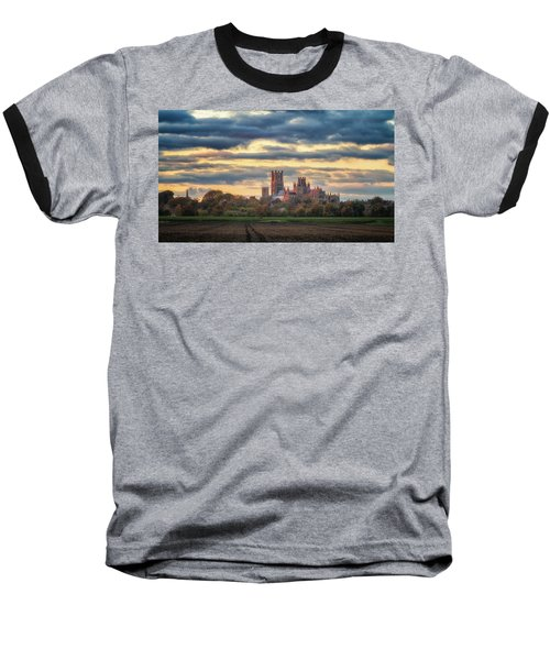 Cathedral Sunset Baseball T-Shirt