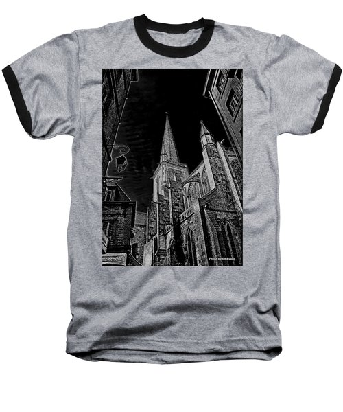 Baseball T-Shirt featuring the photograph Cathedrale St/. Vincent by Elf Evans