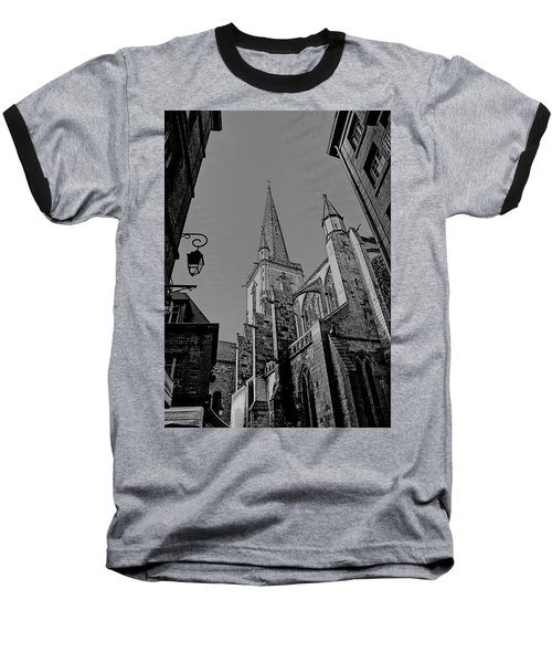 Baseball T-Shirt featuring the photograph Cathedrale St. Vincent  by Elf Evans