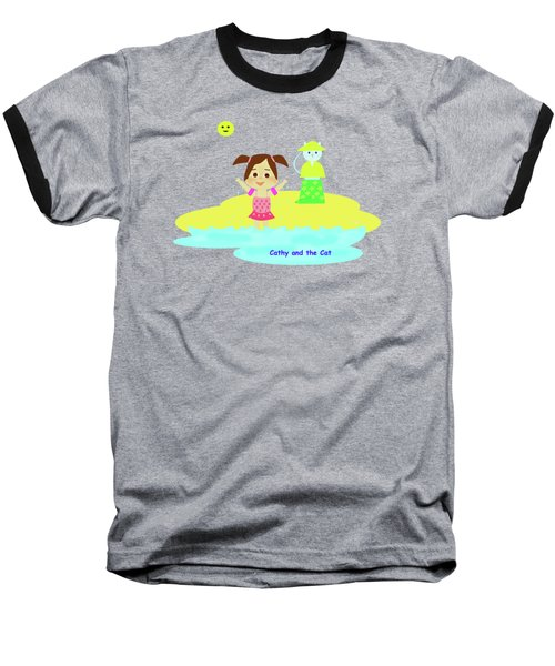 Cathy And The Cat And Fresh Water Baseball T-Shirt