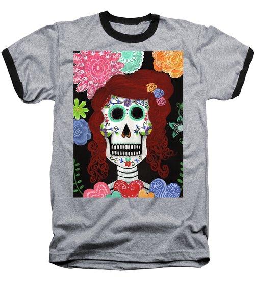 Catrina's Garden Baseball T-Shirt