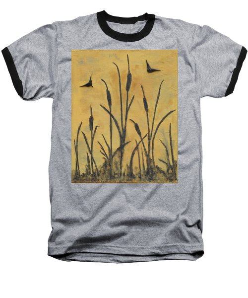 Cattails I Baseball T-Shirt
