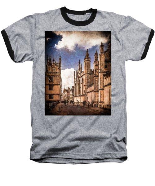 Oxford, England - Catte Street Baseball T-Shirt