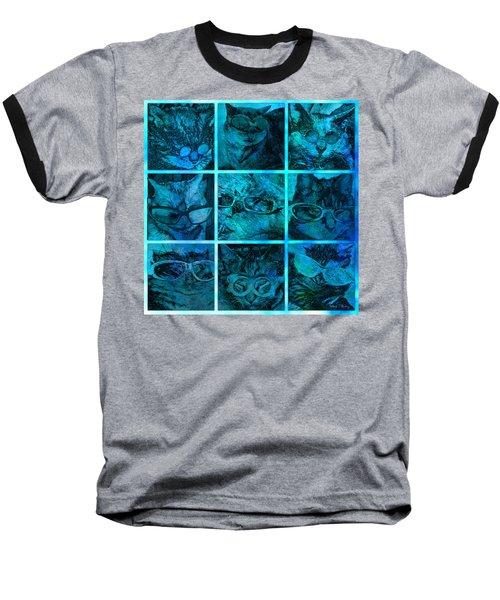 Cattitudes Baseball T-Shirt