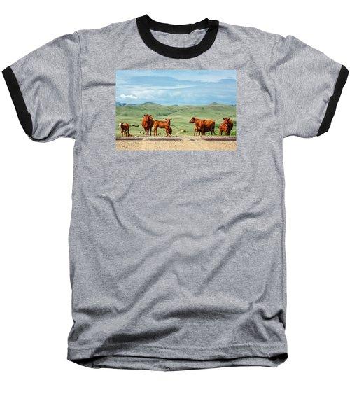 Cattle Guards Baseball T-Shirt