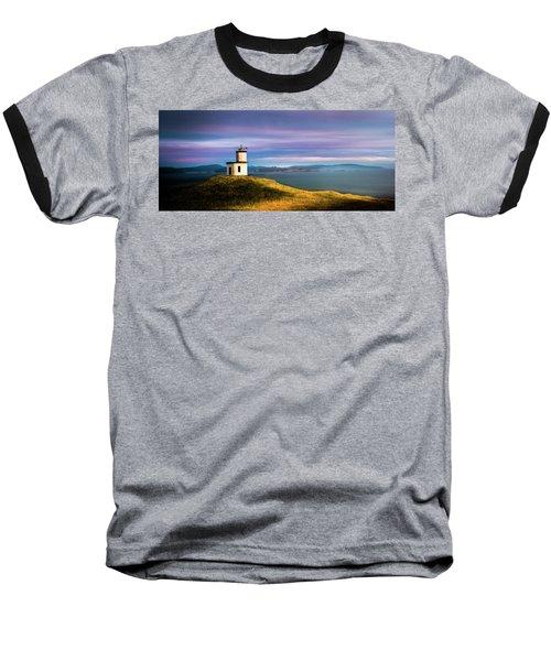 Cattle Point Lighthouse Baseball T-Shirt