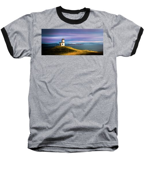 Cattle Point Lighthouse Baseball T-Shirt