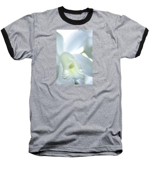 Cattleya Orchid #1 Baseball T-Shirt by George Robinson
