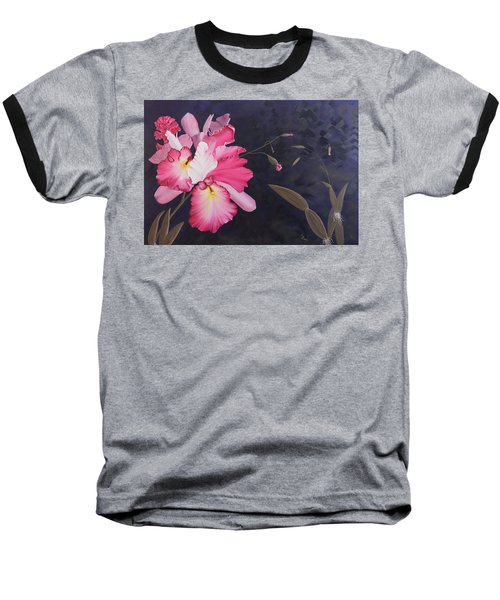 Cattleya Baseball T-Shirt