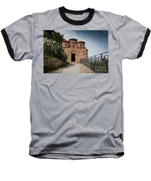 Baseball T-Shirt featuring the photograph Cattolica Di Stilo by Bruno Spagnolo