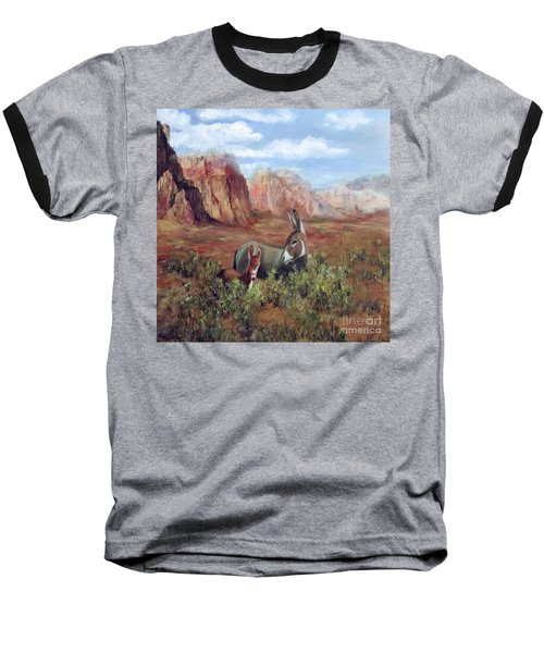Caught In The Brush Baseball T-Shirt