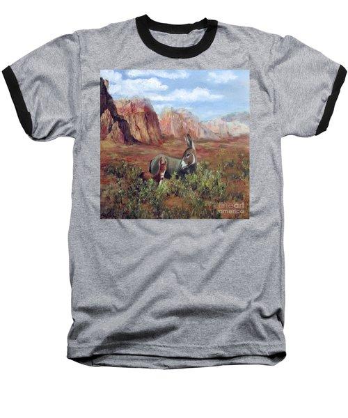 Caught In The Brush Baseball T-Shirt