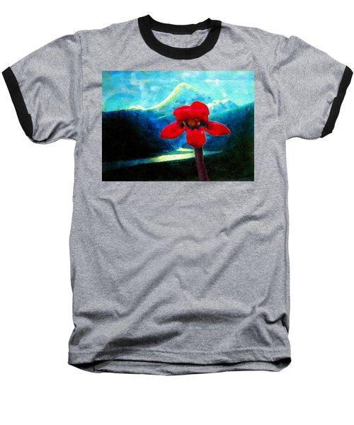 Caucasus Love Flower I Baseball T-Shirt