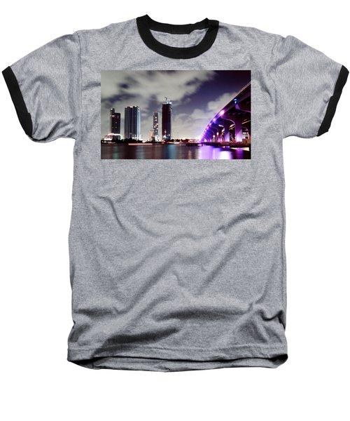 Causeway Bridge Skyline Baseball T-Shirt