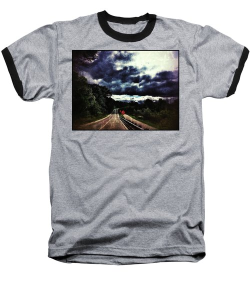Caution Baseball T-Shirt