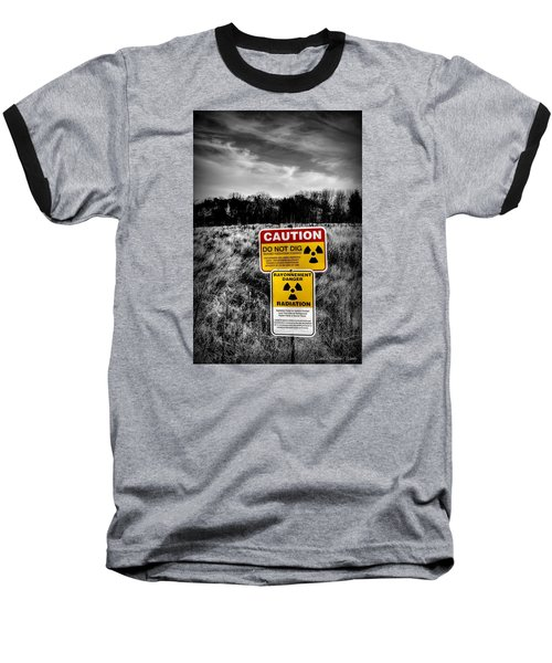 Baseball T-Shirt featuring the photograph Caution by Michaela Preston