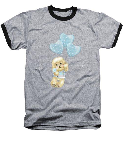 Cavapoo Toby Baby Baseball T-Shirt