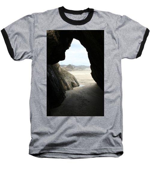 Cave Dweller Baseball T-Shirt