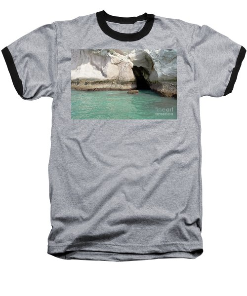 Baseball T-Shirt featuring the photograph Cave Entranve by Yurix Sardinelly