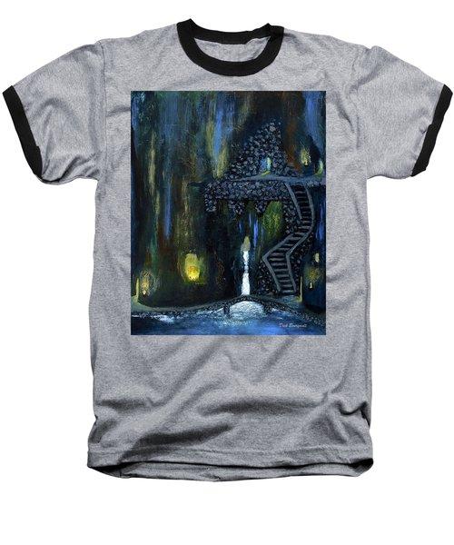 Cave Of Thrones Baseball T-Shirt