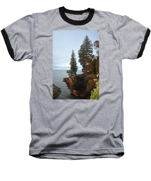 Cave Point Baseball T-Shirt by Linda Goad