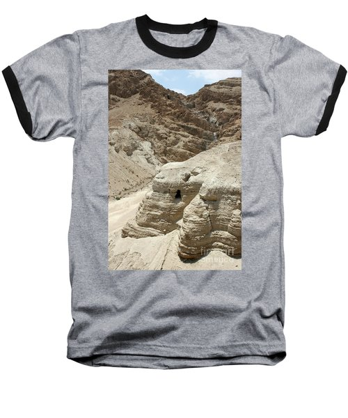 Caves Of The Dead Sea Scrolls Baseball T-Shirt