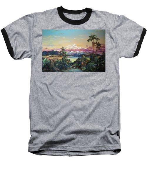 Cayambe-ish Baseball T-Shirt