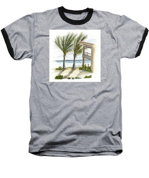 Cayman Hotel Baseball T-Shirt