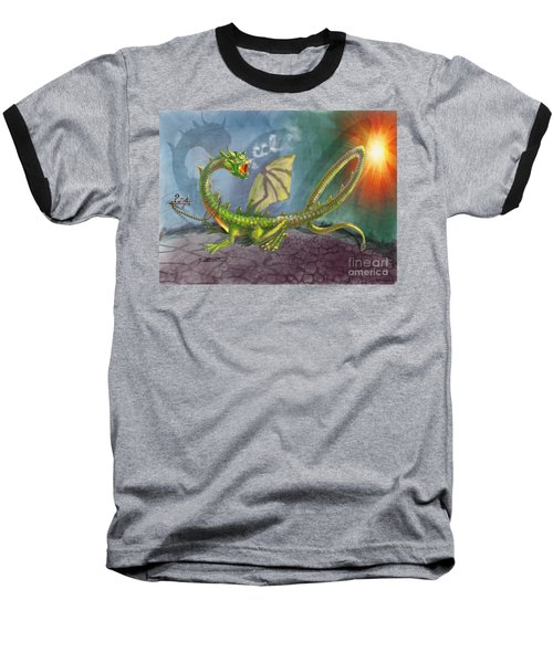 Concealed Carry Dragon Baseball T-Shirt