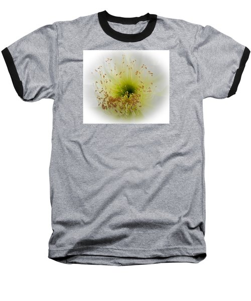 Cctus Flower Baseball T-Shirt by Christy Usilton