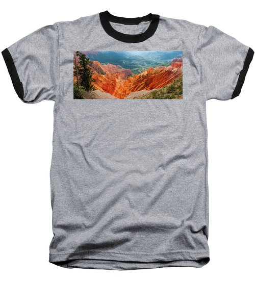 Cedar Breaks Amphitheater Baseball T-Shirt