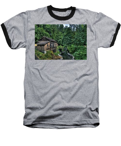 Cedar Creek Grist Mill Baseball T-Shirt
