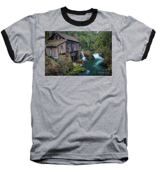 Cedar Grist Mill Baseball T-Shirt