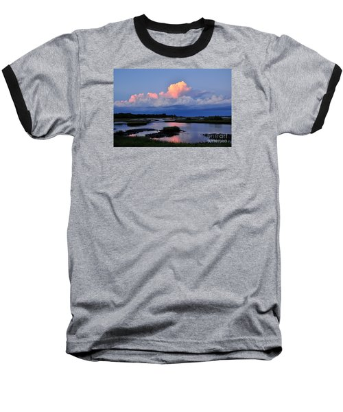 Cedar Key Sunset Baseball T-Shirt