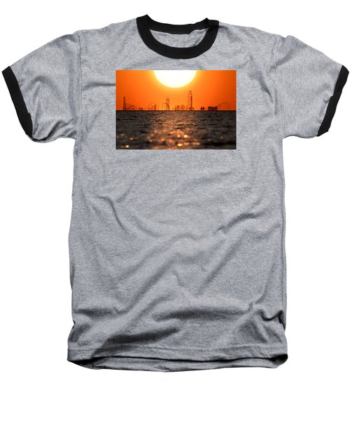 Cedar Point Skyline 2 Baseball T-Shirt