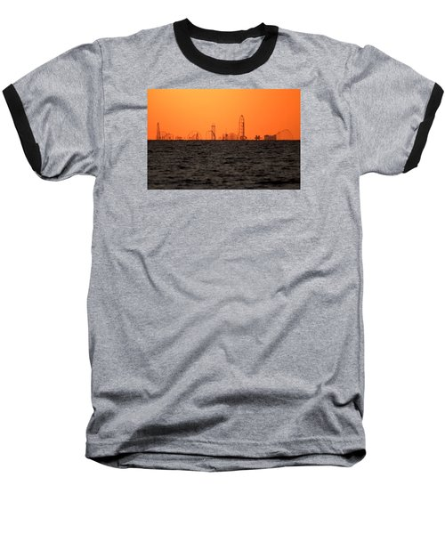 Cedar Point Skyline Baseball T-Shirt