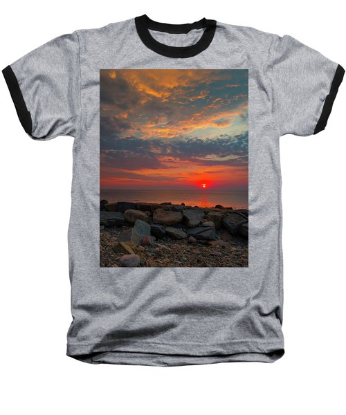 Cedar Point Sunrise Baseball T-Shirt