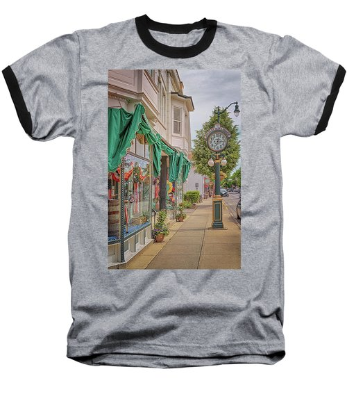 Cedarburg Street Clock Baseball T-Shirt